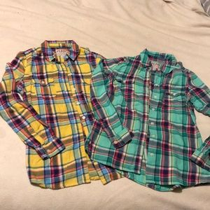Old Navy soft Plaid shirts
